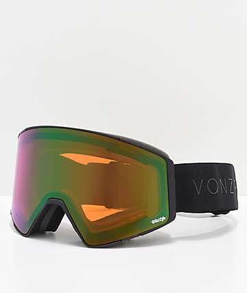 VonZipper Capsule Wildlife Black Satin gafas de snowboard
