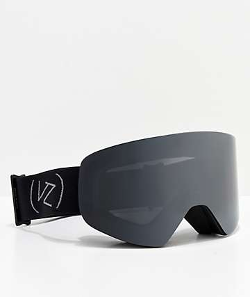 VonZipper Encore Black Satin Snowboard Goggles