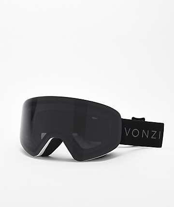 170e6dc6a9c8 VonZipper Encore White Satin   Blackout Snowboard Goggles