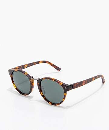 VonZipper F.C.G. Stax Satin gafas de sol de carey y color verde