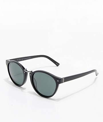 VonZipper F.C.G. Stax Vintage Black Gloss & Green Sunglasses