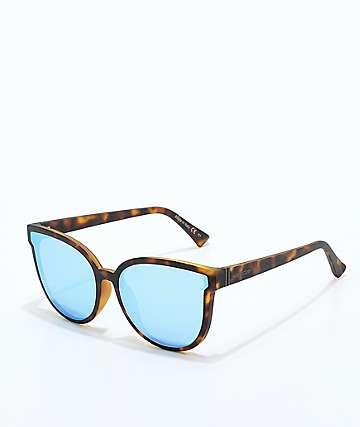 VonZipper Fairchild gafas de sol de carey y cromo azul