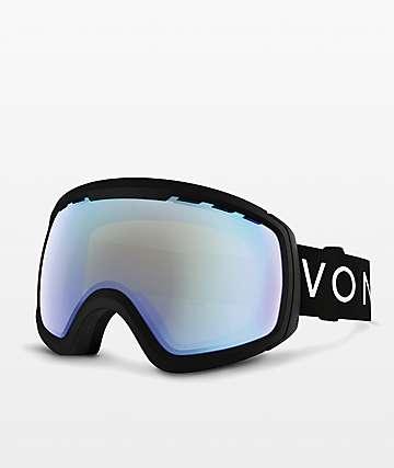 VonZipper Feenom N.L.S. Black Stellar Chrome Snowboard Goggles
