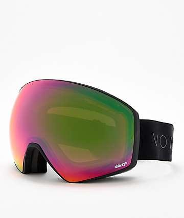 VonZipper Jetpack Wildlife gafas de snowboard en negro satinado