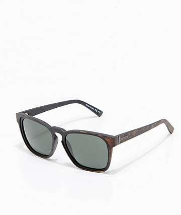 VonZipper Levee gafas de sol de carey caoba y gris