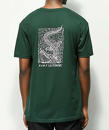 WKND Alligator camiseta verde