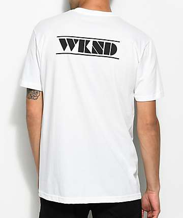 WKND Deco White T-Shirt
