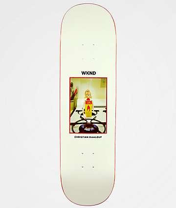 "WKND Doll Parts Maalouf Flame Girl 8.5"" Skateboard Deck"