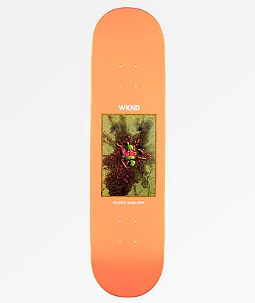 "WKND Doll Parts Sablone Melon Murder 7.75"" Skateboard Deck"