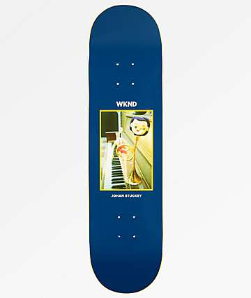 "WKND Doll Parts Stuckey Trumpet Boy 8.0"" Skateboard Deck"