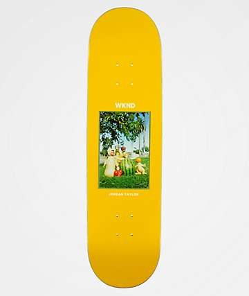 "WKND Doll Parts Taylor Fruit Family 8.3"" Skateboard Deck"