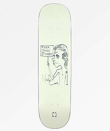 "WKND Fuck Johan Stuckey 8.25"" Skateboard Deck"