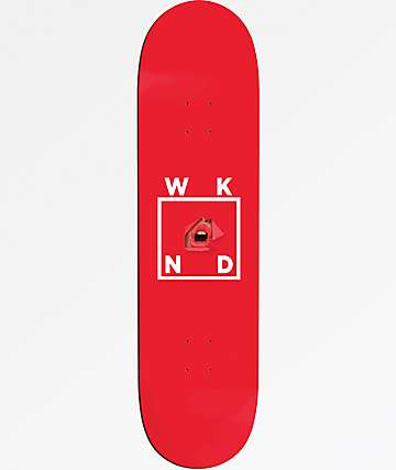 "WKND Lips 8.25"" Skateboard Deck"