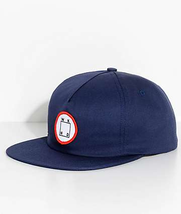 WKND Logo Patch Navy Snapback Hat