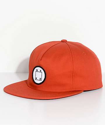 WKND Logo Patch Rust Snapback Hat