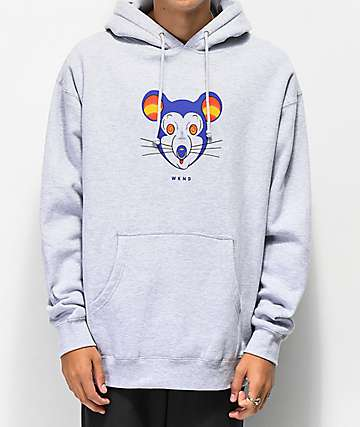 WKND Mouse Grey Hoodie
