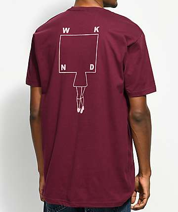 WKND School Girl Maroon T-Shirt
