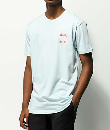 WKND Square Logo Light Blue T-Shirt