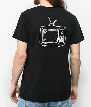 WKND TV Logo camiseta negra