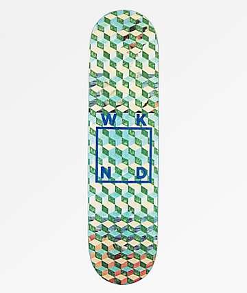 """WKND Tessellation Logo 8.0"""" Skateboard Deck"""