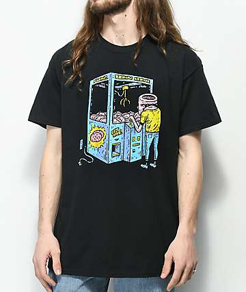 Washbeast Brain Crane Black T-Shirt