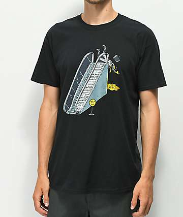 Washbeast Escalator Black T-Shirt