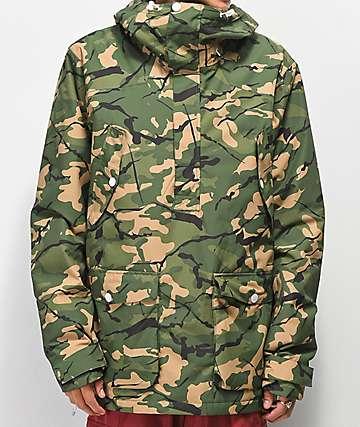 Wear Colour Forest 10K chaqueta de snowboard de camuflaje