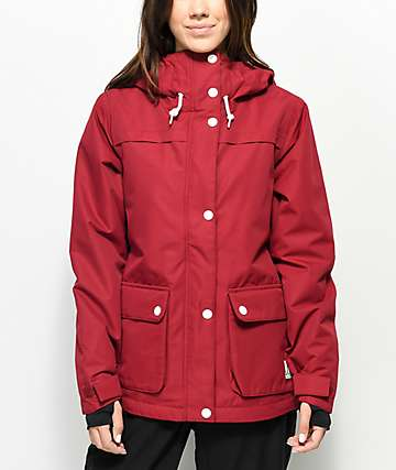 Wear Colour Ida Burgundy 10K Snowboard Jacket