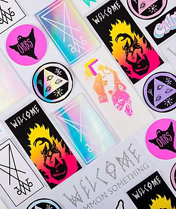 Welcome 10 Pack Stickers