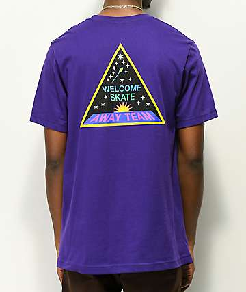 Welcome Away Team Purple T-Shirt
