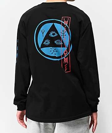8d7d31987e79 Welcome Beckon Black Long Sleeve T-Shirt