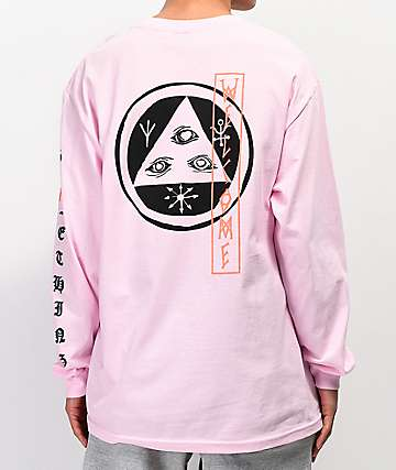 b96ee9b6ead Welcome Beckon Pink Long Sleeve T-Shirt