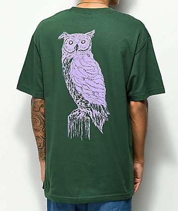 Welcome Black Beak Forest & Lavender T-Shirt
