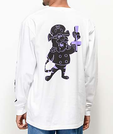 Welcome Captain White Long Sleeve T-Shirt