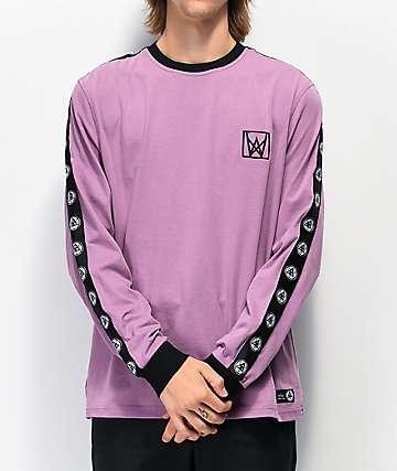 Welcome Chalice Purple & Black Long Sleeve T-Shirt