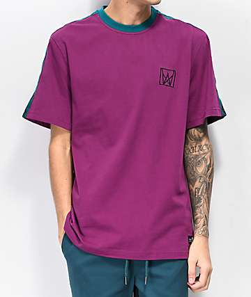 Welcome Chalice Purple & Teal T-Shirt