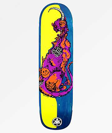 "Welcome Cheetah On Big Bunyip 8.5"" Skateboard Deck"