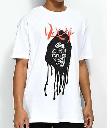 Welcome Dripper White T-Shirt