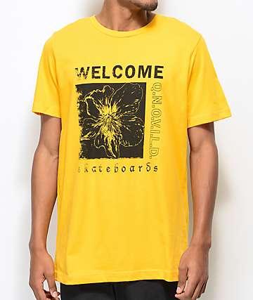 Welcome Flaura Gold T-Shirt