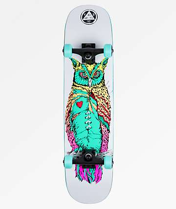"Welcome Heartwise on Amulet 7.75"" Skateboard Complete"