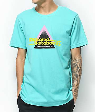 Welcome Interdimensional Aqua T-Shirt
