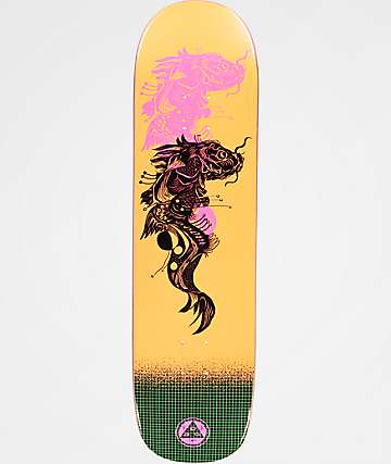 "Welcome Koi Boi On Big Bunyip 8.5"" Skateboard Deck"