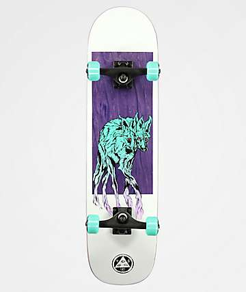 "Welcome Maned Wolf On Bunyip 8.0"" Skateboard Complete"