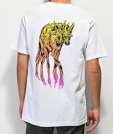 Welcome Maned Woof White T-Shirt