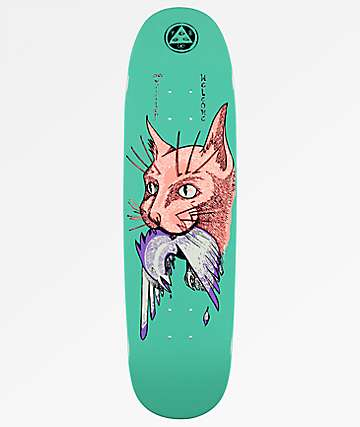"Welcome Miller Cat On Catblood 2.0 8.75"" Skateboard Deck"