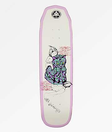 """Welcome Nora Loo Dude Wicked Queen 8.6"""" Skateboard Deck"""