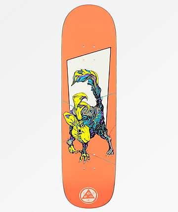 """Welcome Pack Rabbit On White Lightning 8.5"""" Skateboard Deck"""