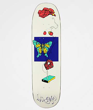 "Welcome Puppet Master On White Lightning 8.75"" Skateboard Deck"