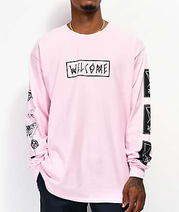 Welcome Puppet Master Pink Long Sleeve T-Shirt