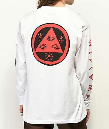 Welcome Sapien White Long Sleeve T-Shirt